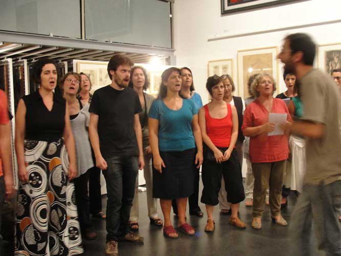 Coro da Achada na Casa da Achada - Setembro 2011