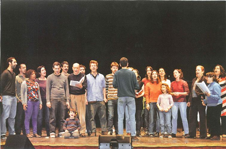 Coro da Achada em Piadena - Março 2011